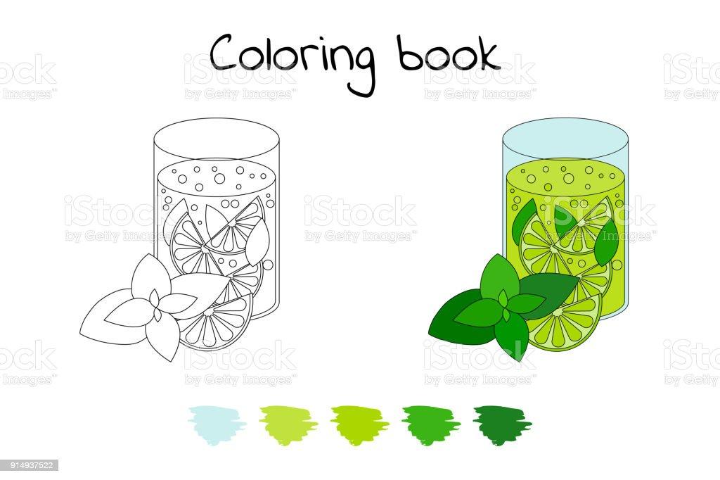 Ilustración de Libro De Colorear Para Los Niños Ilustración De ...