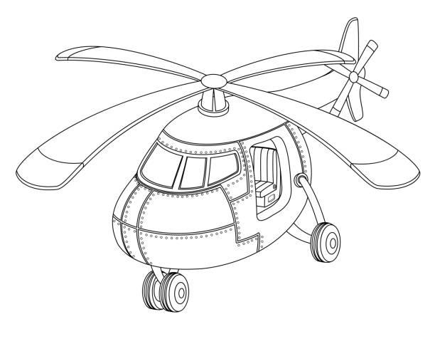 Vectores de Helicoptero y Illustraciones Libre de Derechos - iStock