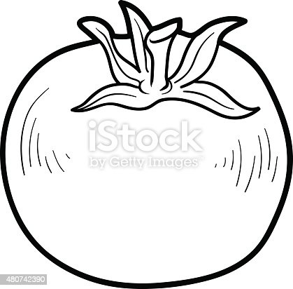 Coloring Book Fruits And Vegetables Stock Vector Art