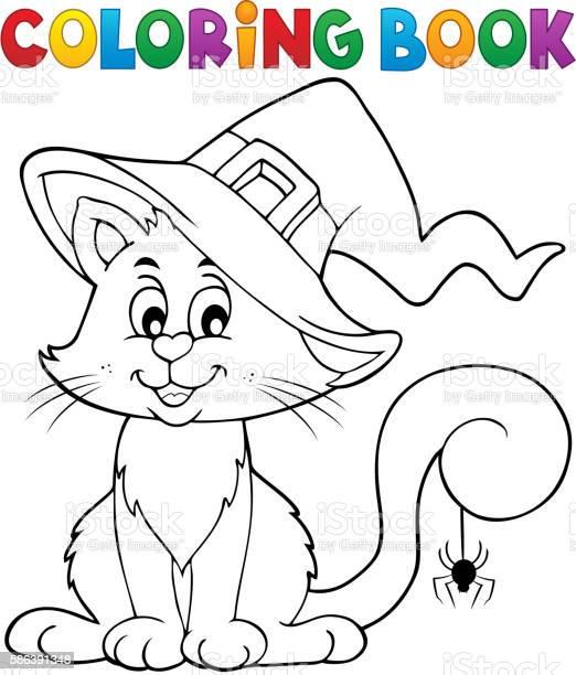 Coloring book halloween cat theme 2 vector id586391348?b=1&k=6&m=586391348&s=612x612&h=ky2gsthdy zgfh h7mwlujcgumgmstfvmsmbzkn2asc=