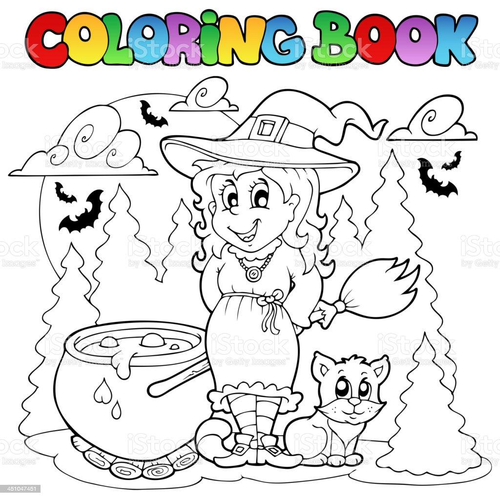 Libro Para Colorear Halloween De 1 - Arte vectorial de stock y más ...
