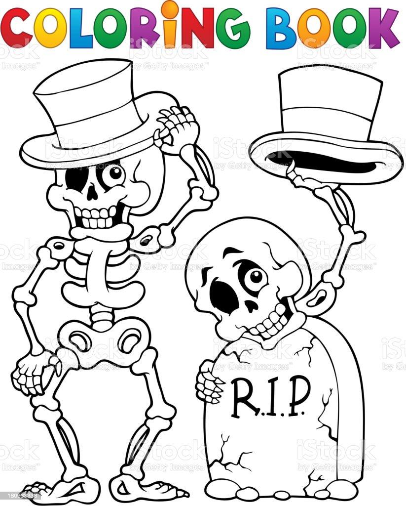 Libro Para Colorear Halloween Carácter 6 - Arte vectorial de stock y ...