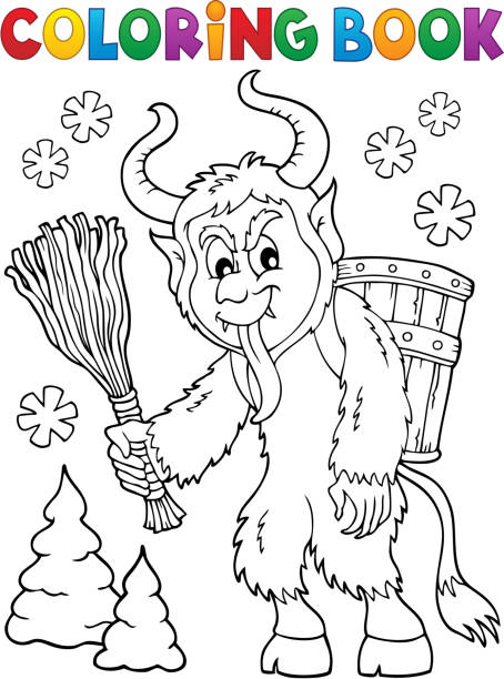 Best Krampus Illustrations Royalty Free Vector Graphics