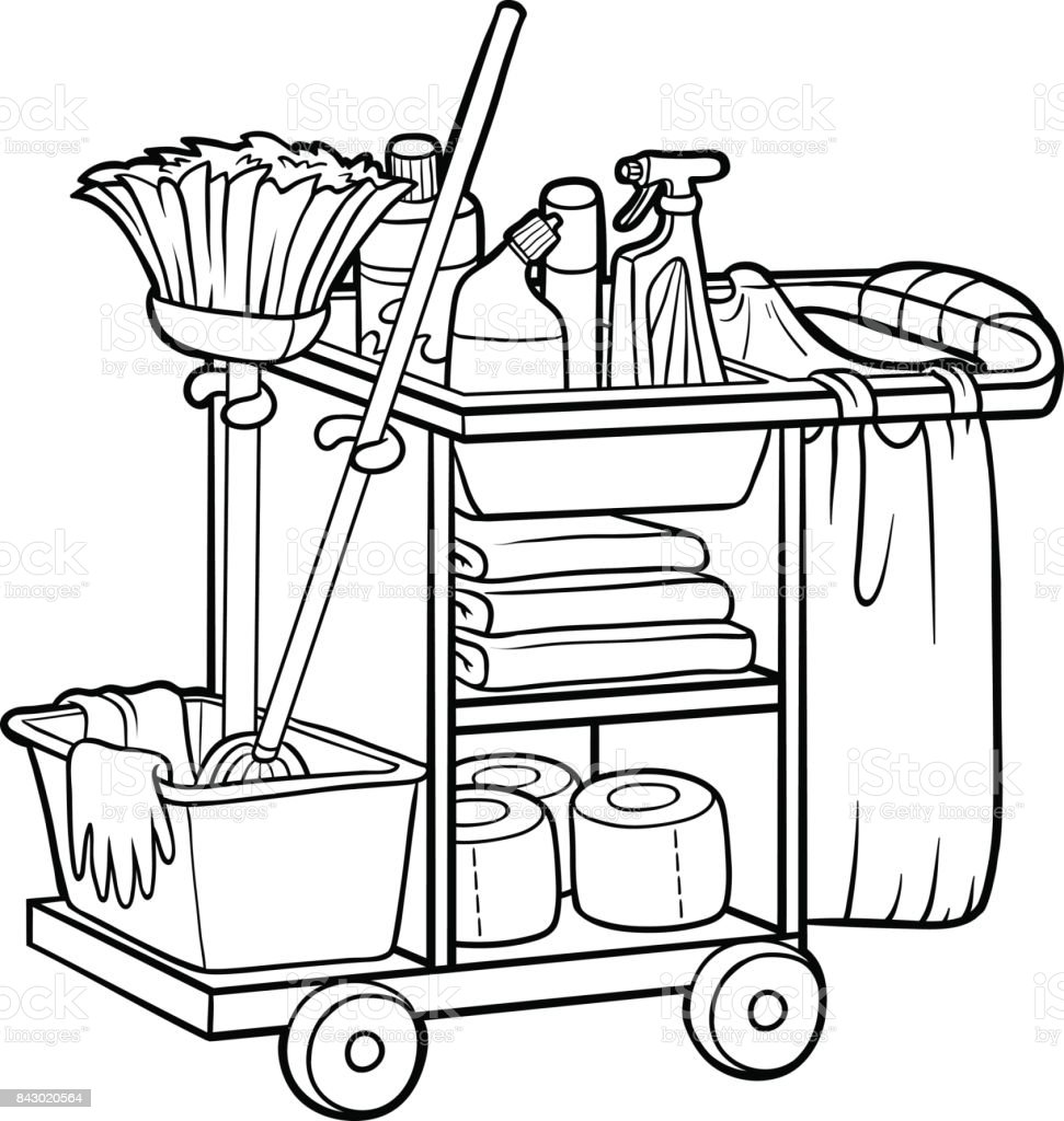 royalty free school janitor clip art  vector images