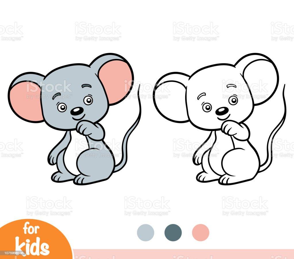 maus und elefant zum ausmalen
