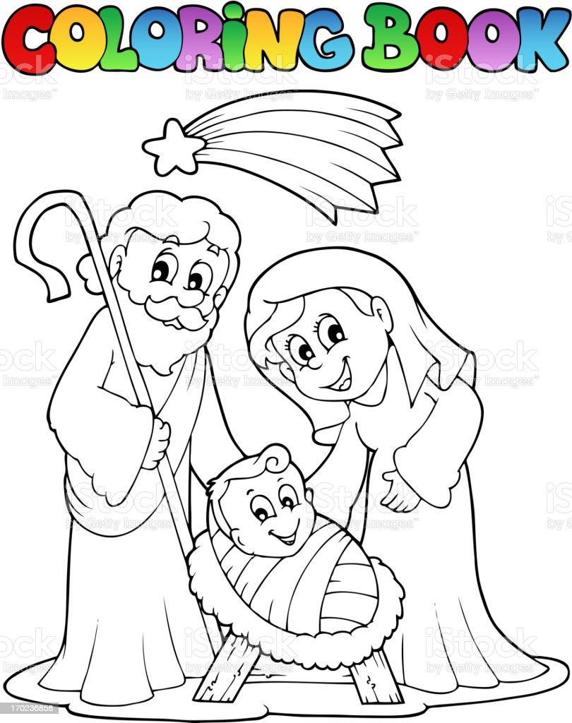 Lujoso Libro De Colorear De La Natividad Imágenes - Enmarcado Para ...