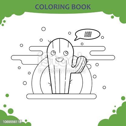1076654588istock Pãgina De Libro Para Colorear Para Niãos