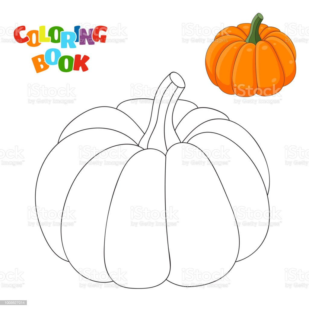 Ilustración de Página De Libro Para Colorear Para Niños En Edad ...