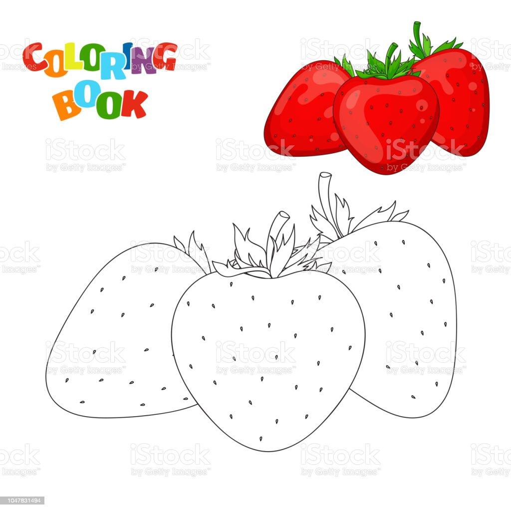 Ilustración De Página De Libro Para Colorear Para Niños En Edad