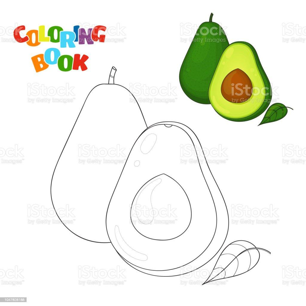Ilustracion De Pagina De Libro Para Colorear Para Ninos En Edad