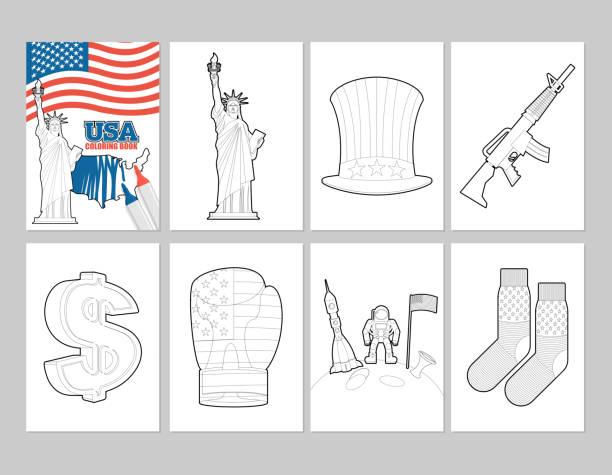 Vectores de Bandera Para Colorear e Ilustraciones Libres de Derechos ...