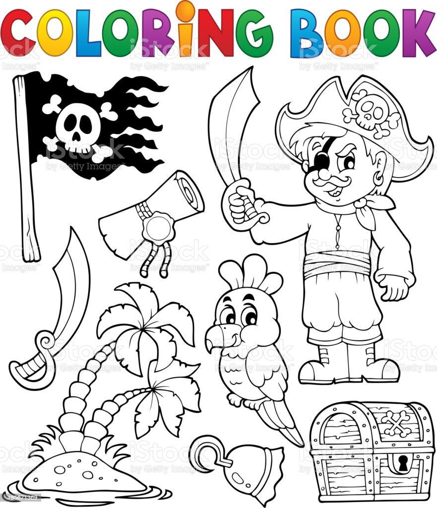 Libro da colorare pirata visualizzazioni tematiche ed - Pirata immagini da colorare i pirati ...