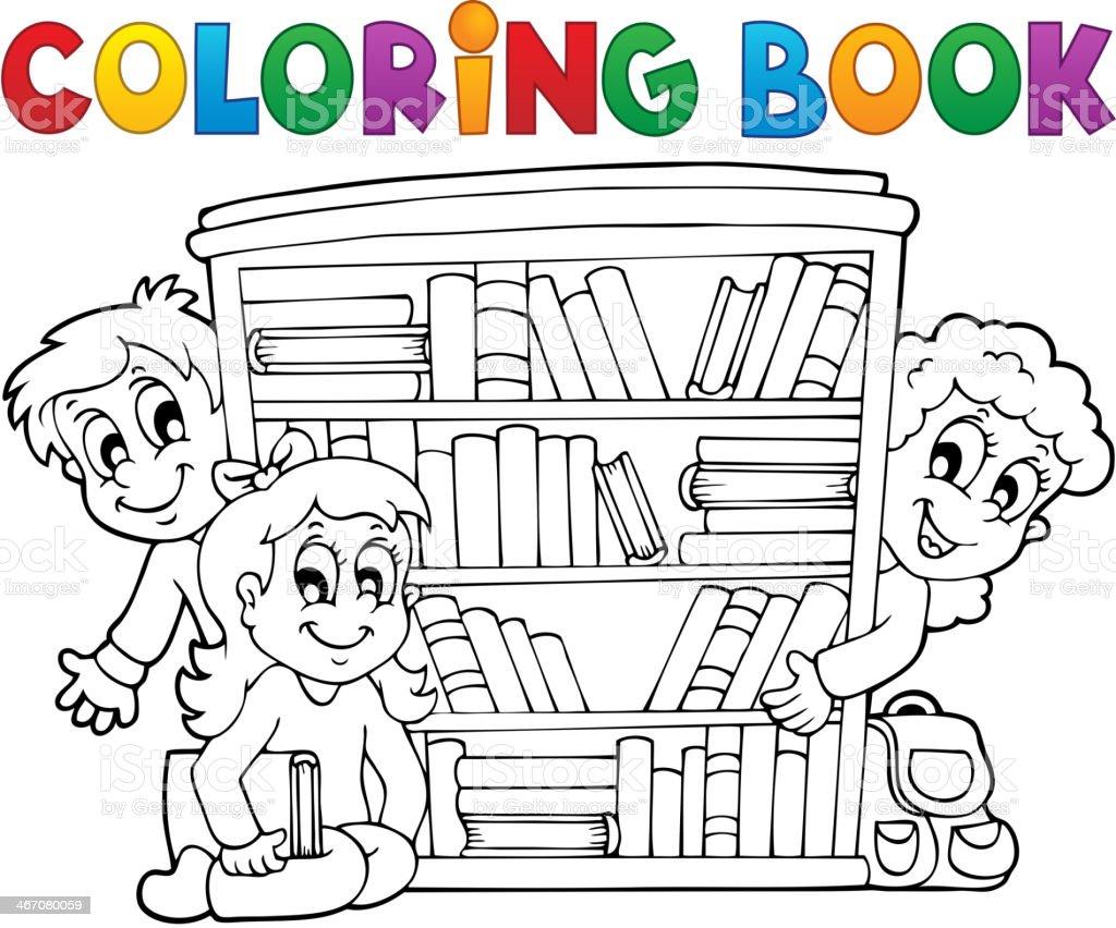 Ilustración de Libro Para Colorear Alumno Tema 2 y más ...