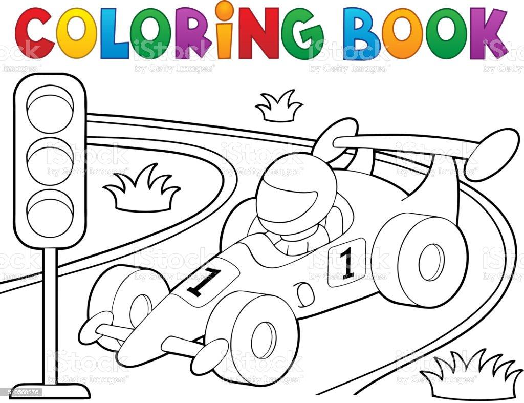 Vectores de Carros Para Colorear y Illustraciones Libre de Derechos ...