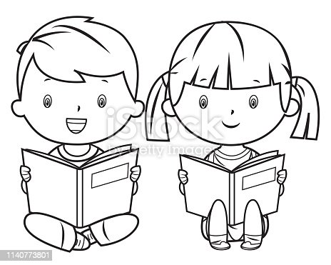Coloring Book, Reading Book