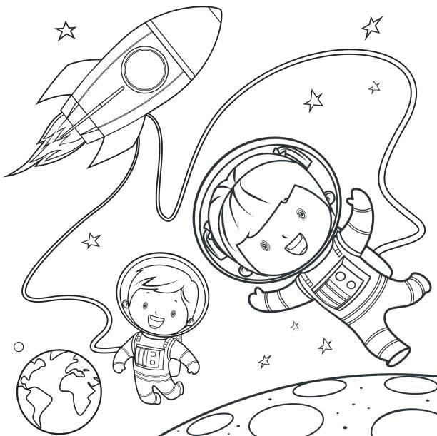 Vectores de Planeta Tierra Para Colorear e Ilustraciones Libres de ...