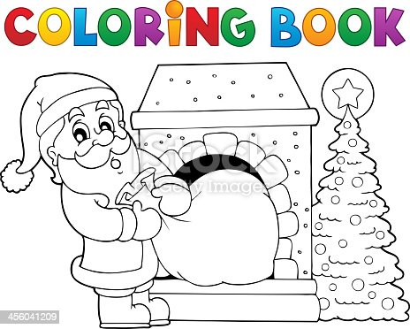 istock Navidad Santa Claus 4 451006311 istock Libro para colorear ...
