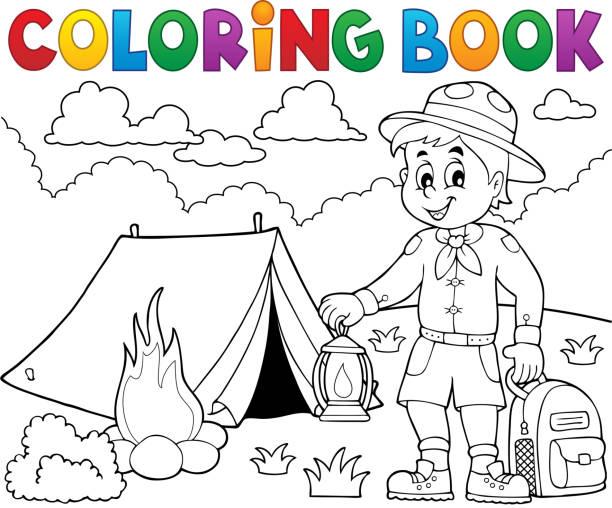 Único La Ley De Girl Scouts Para Colorear Modelo - Ideas Para ...