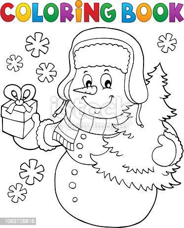 istock Imagen 8 temáticos de Navidad muñeco de nieve 502804866 ...