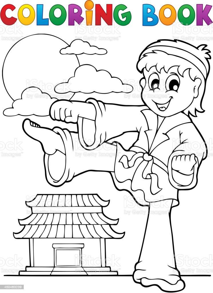 Ilustración de Libro Para Colorear Temático De Deportes Y Gimnasio 2 ...
