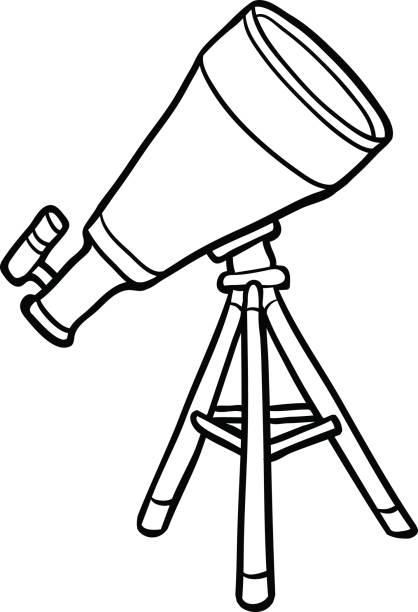 Download Child Telescope Illustrations, Royalty-Free Vector Graphics & Clip Art - iStock