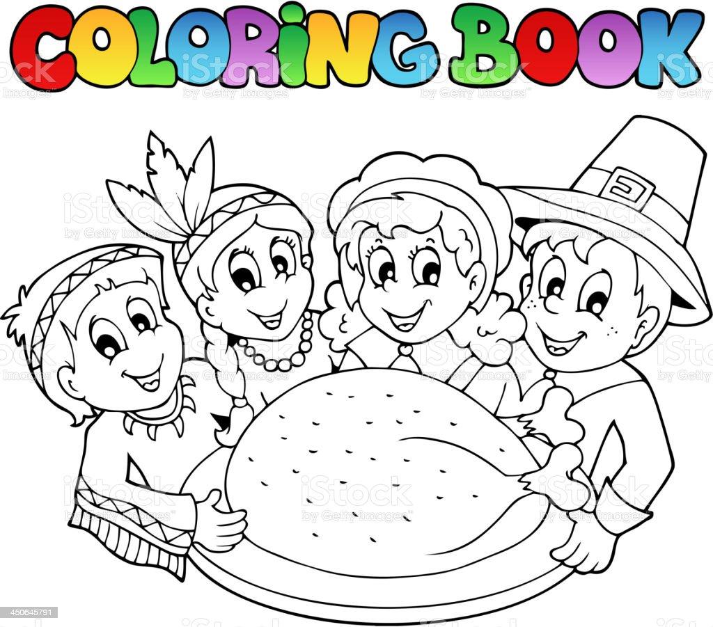 Libro Para Colorear Imagen 3 Del Día De Acción De Gracias - Arte ...