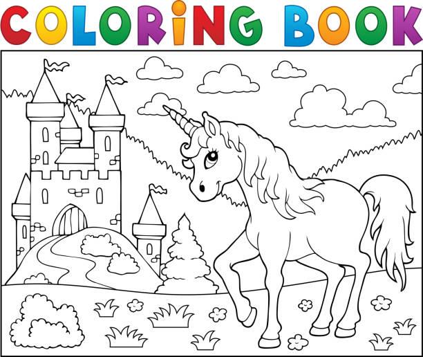 ausmalbilder einhorn familie  coloring and drawing
