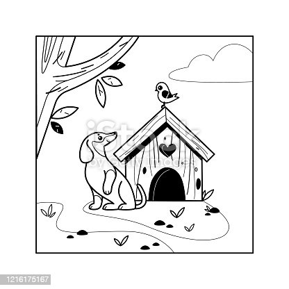 istock Coloring book 1216175167
