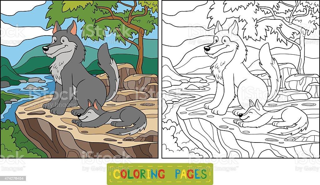 Ilustración de Libro Para Colorear y más banco de imágenes de 2015 ...
