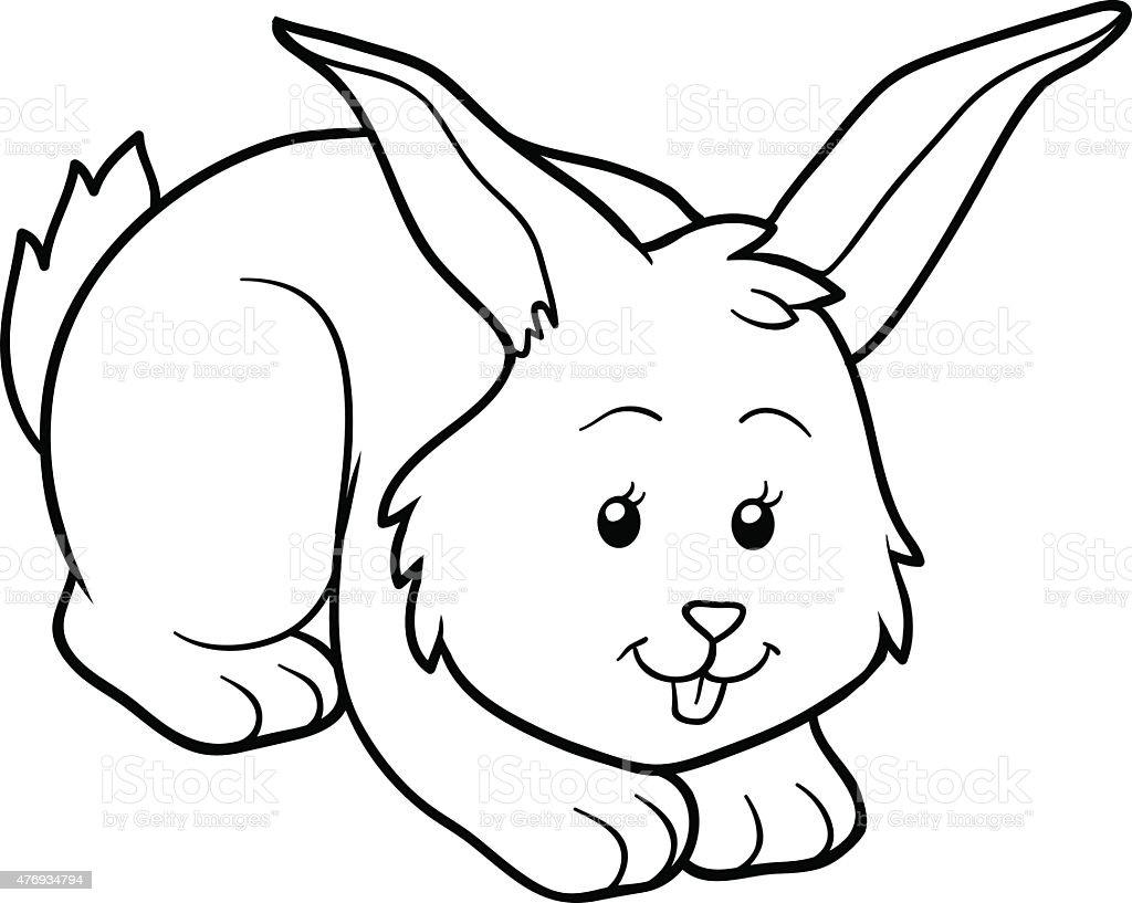 Animales Domesticos Para Colorear Conejo – Solo otra idea de imagen ...