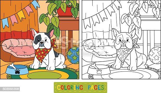 istock Libro para colorear (en perros) 511324449 istock Libro para ...
