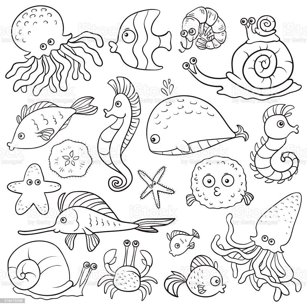 Ilustración de Libro Para Colorear y más banco de imágenes de ...