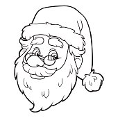 Coloring book (Santa Claus)