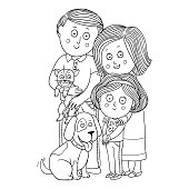 Coloring book (family)