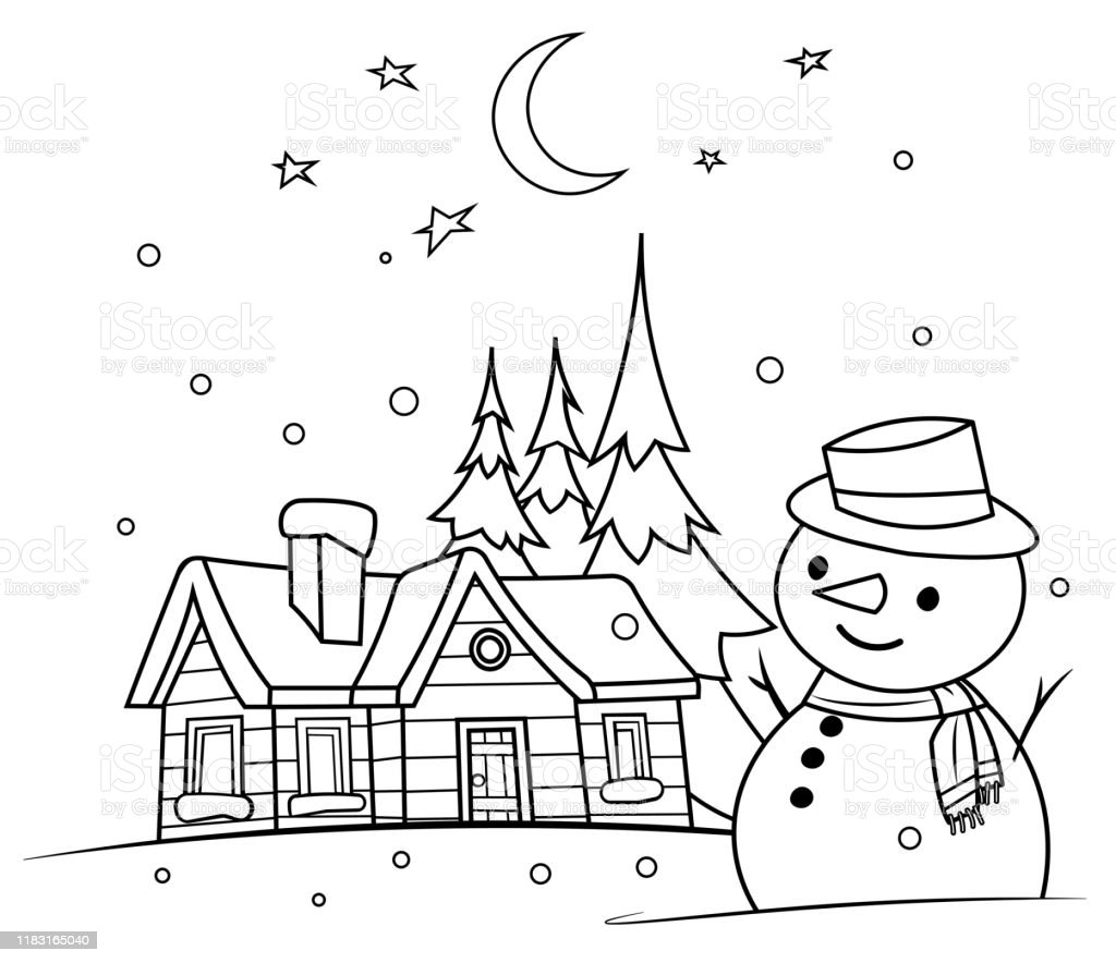 7,022 Christmas Coloring Pages Stock Photos, Pictures & Royalty-Free Images  - IStock