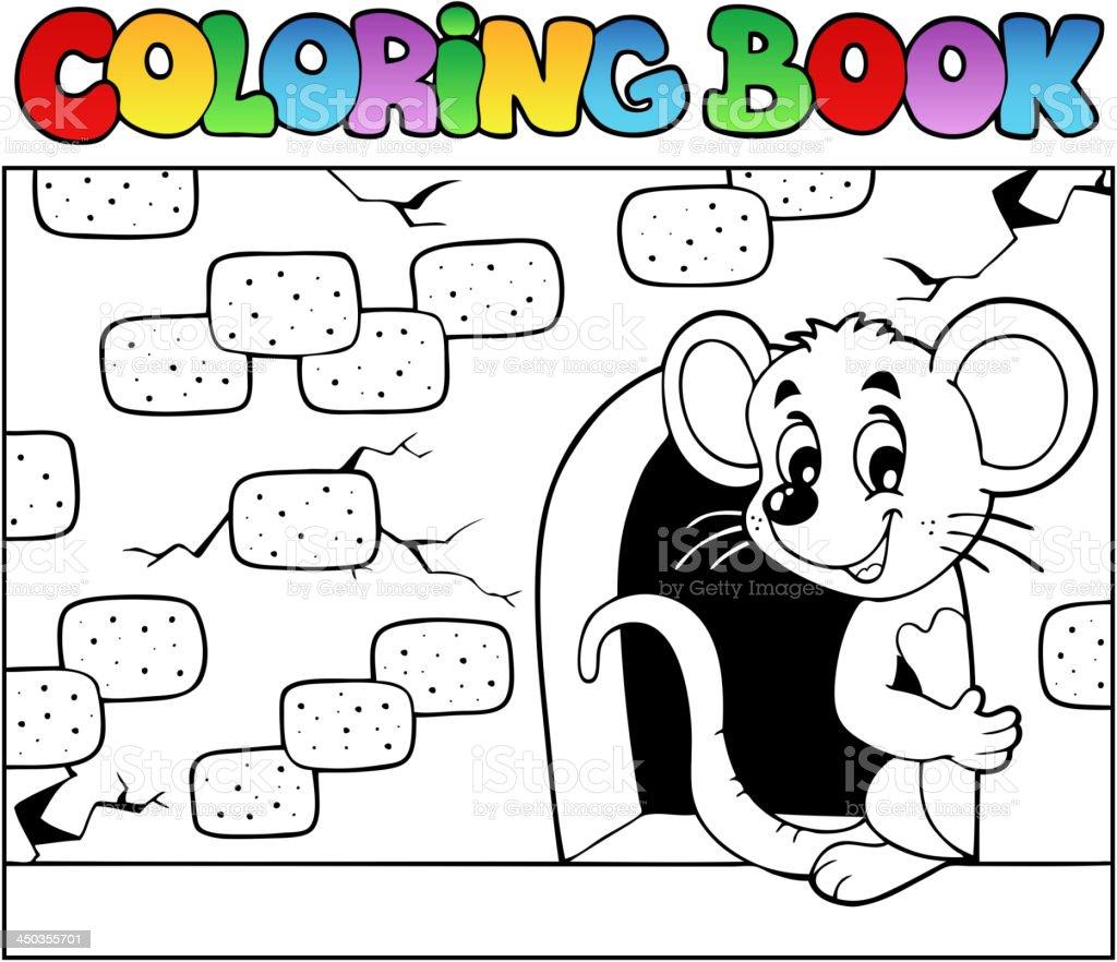 Ilustración de Libro Para Colorear Con Ratón 3 y más banco de ...