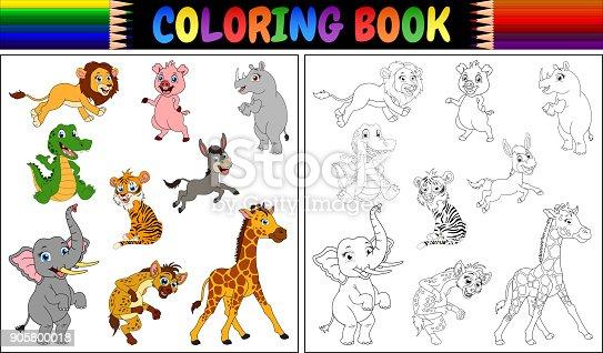 ᐈ Imagen De Libro Para Colorear Con Dibujos Animados Chef