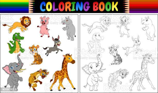 Coloring book with wild animals collection vector id905800018?b=1&k=6&m=905800018&s=612x612&h=0 5wxghlifuy9p5rnp9sqfiygmt7vsq q43tfmsp5wo=
