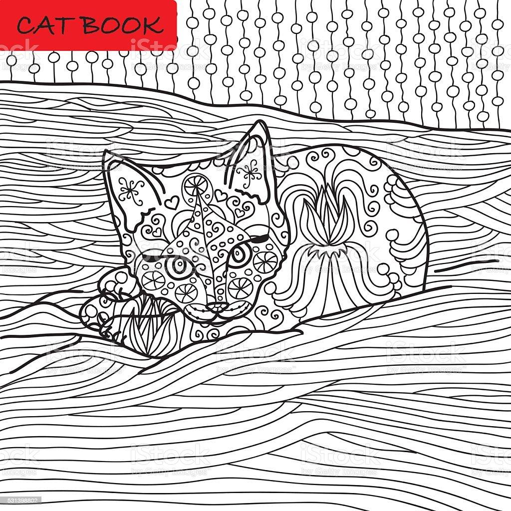 Katzen Ausmalbilder Für Erwachsene : Gro Artig Erwachsene Seite Zeitgen Ssisch Malvorlagen Ideen