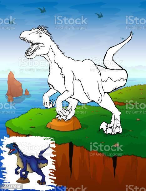 malvorlagen dinosaurier raptor malvorlagen für kinder