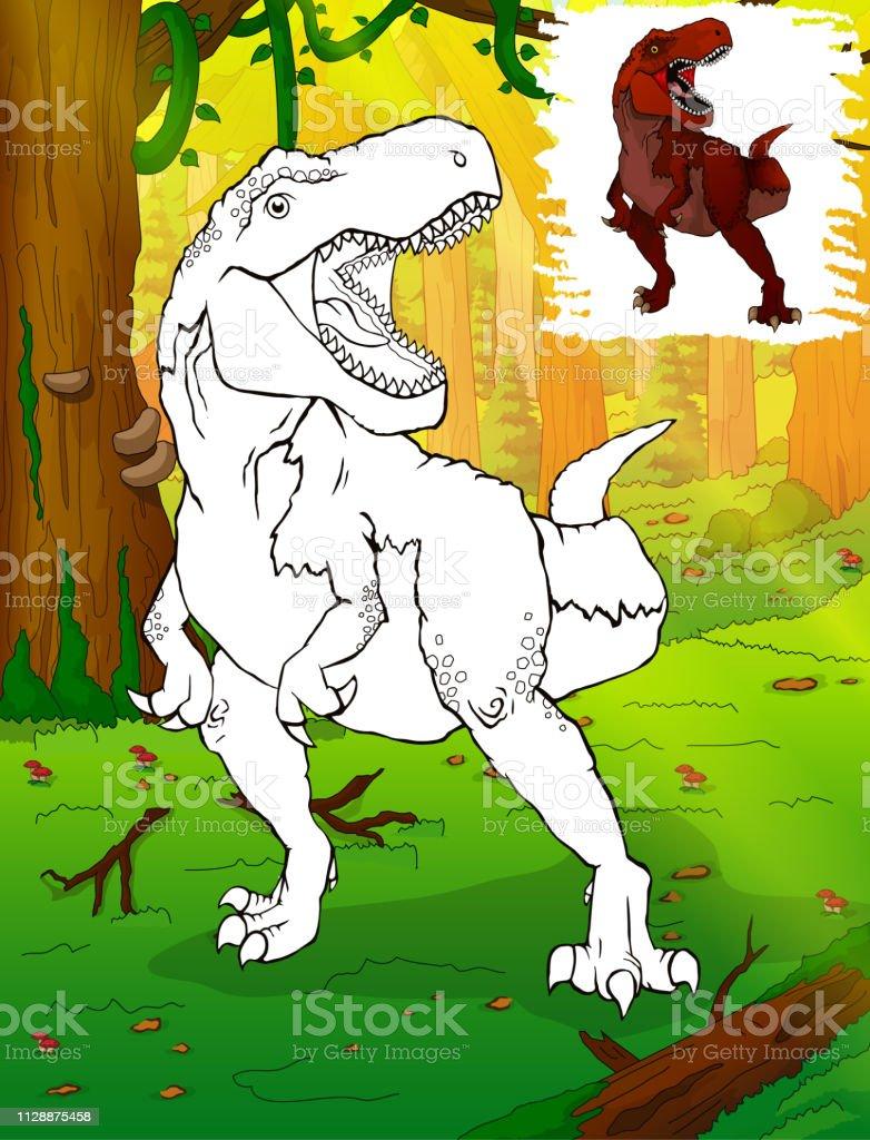 Malvorlagen Dinosaurier Tyrannosaurus Rex Malvorlagen Fur Kinder