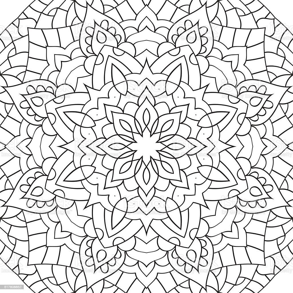раскраска для взрослых антистрессовыйmandalazentangl