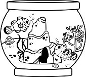 Coloring page activity for children.