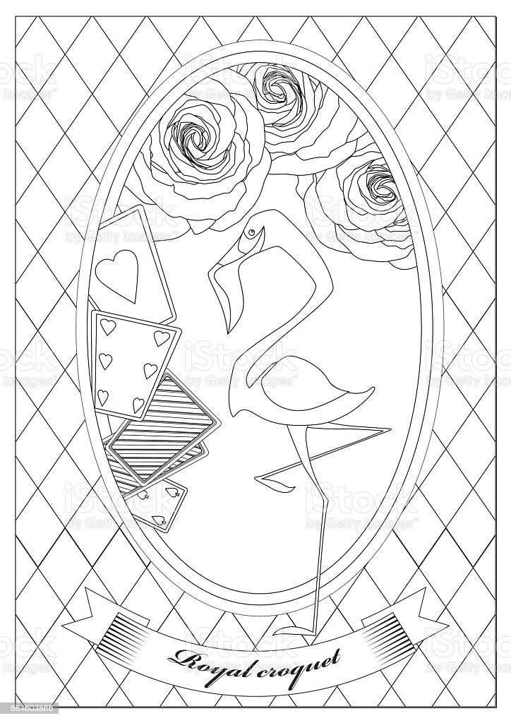 Alice in wonderland coloring pages flowers for kids, printable free | 1024x724