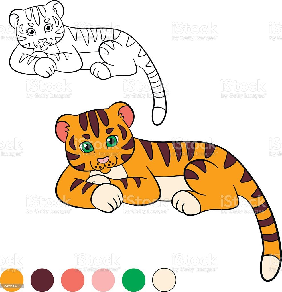 Tigers coloring pages   Free Coloring Pages   1024x989