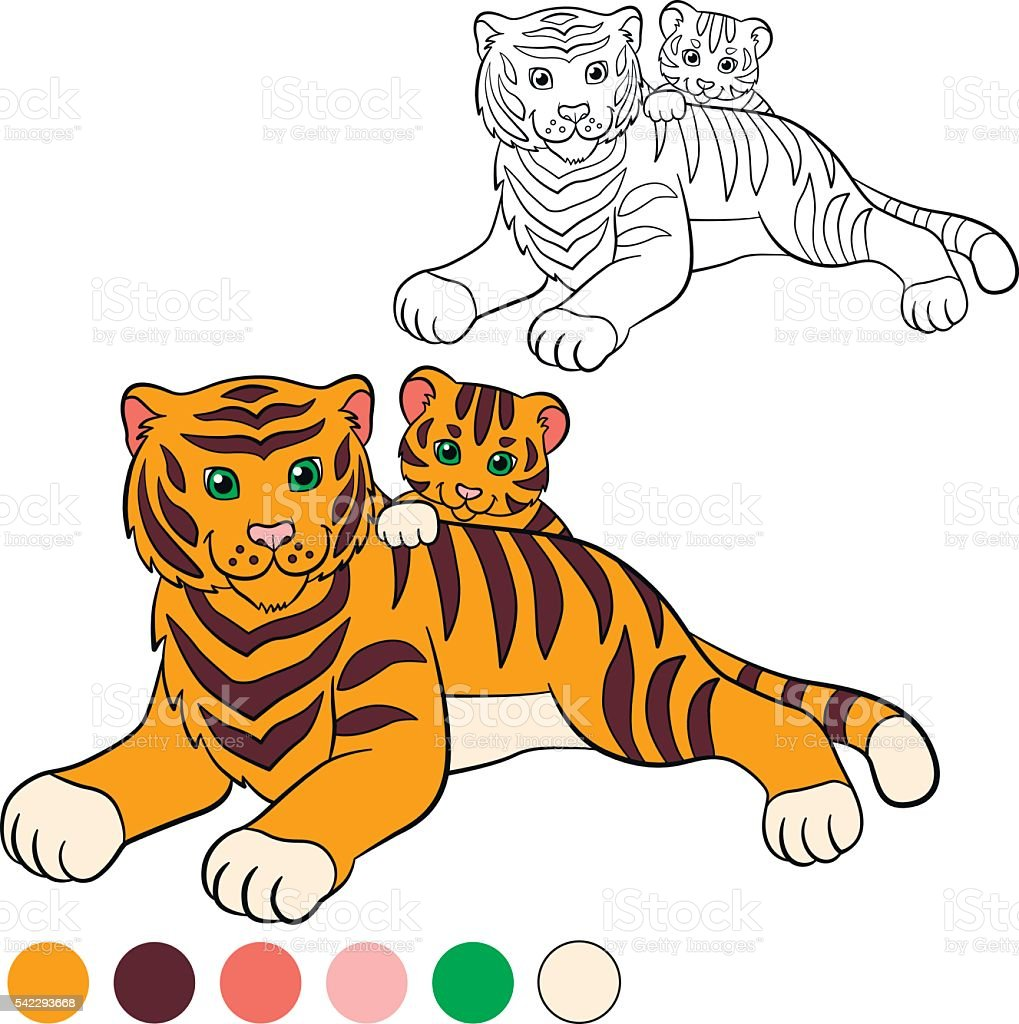 Baby Tiger Winnie The Pooh Coloring Page | Baby coloring pages ... | 1024x1019