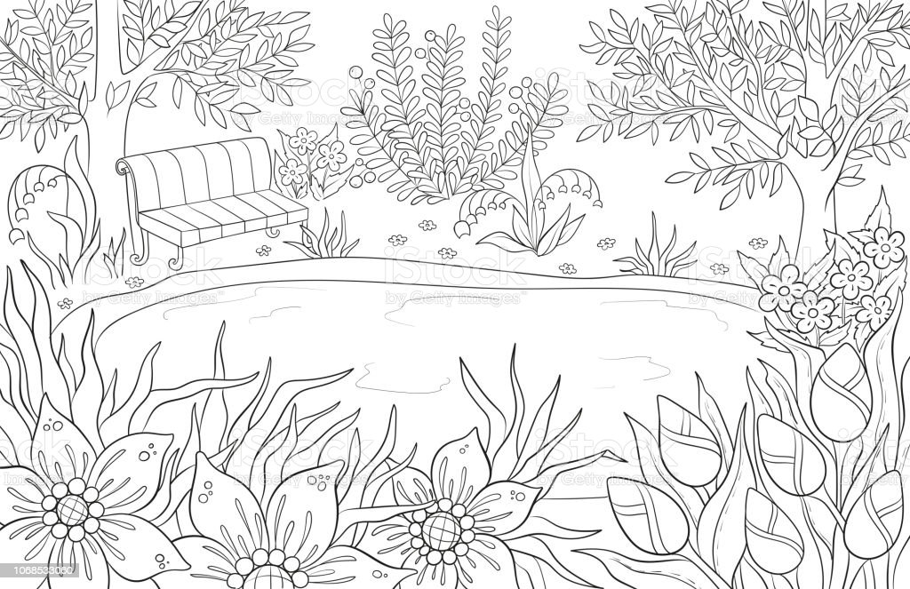 Coloring Page For Adult And Kids Coloring Book Or Bullet ...