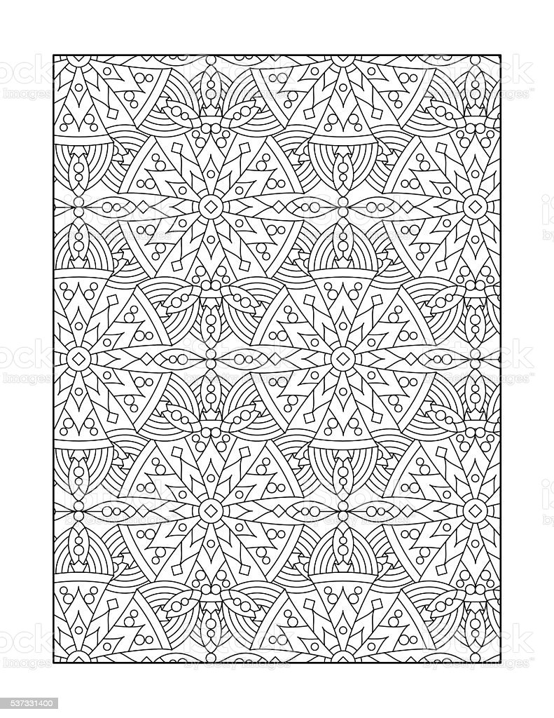 Adult coloring pages black and white ~ Coloring Page For Adults Or Black And White Ornamental ...