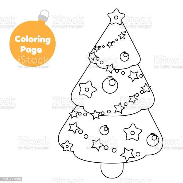 malvorlagen für kinder weihnachten neujahr fichte baum