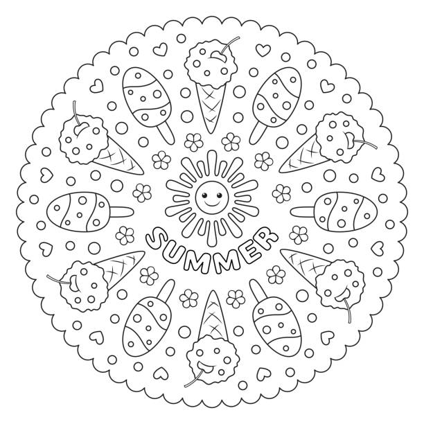 216 Watermelon Coloring Page Illustrations Royalty Free Vector Graphics Clip Art Istock